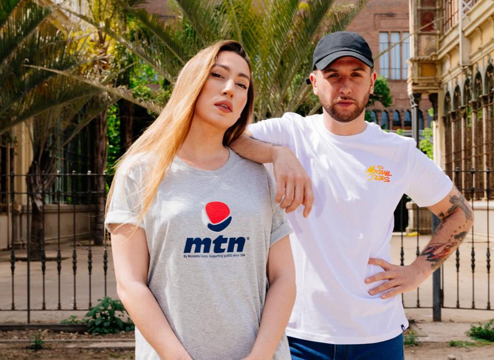 "MTN T-Shirt ""Hand Style White"""