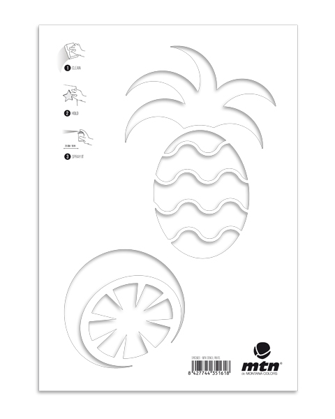 MTN Stencils Ananas