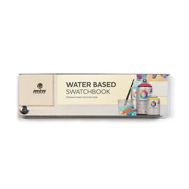 MTN Waterbased Swatchbook Echtfarbfächer