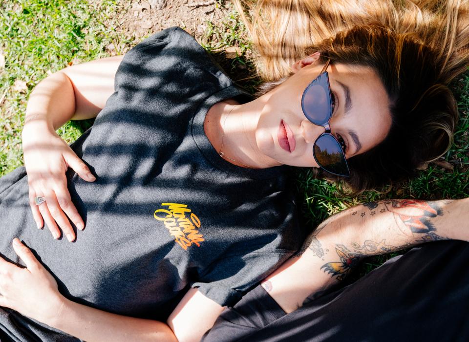"MTN T-Shirt ""Hand Style Grey"""