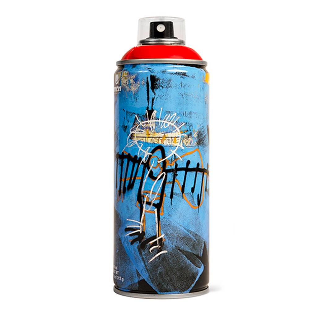 MTN LTD. Edition Jean-Michel Basquiat - Red
