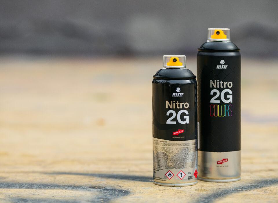 MTN Nitro 2G Black 400 ml