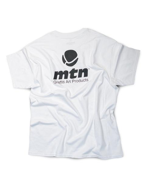 """MTN T-Shirt """"Basic Logo Back White"""""""