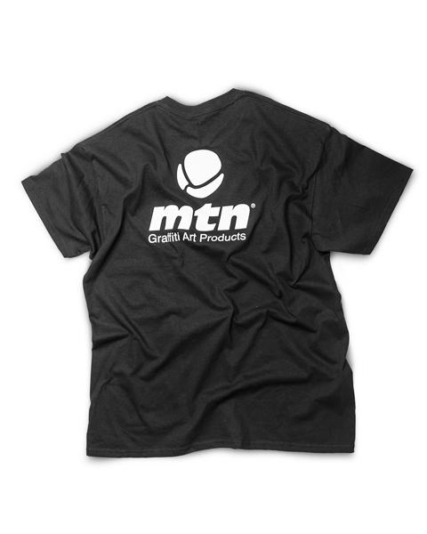 MTN T-Shirt Basic Logo Back Black