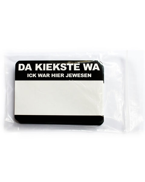 """Da kiekste wa"" Sticker"