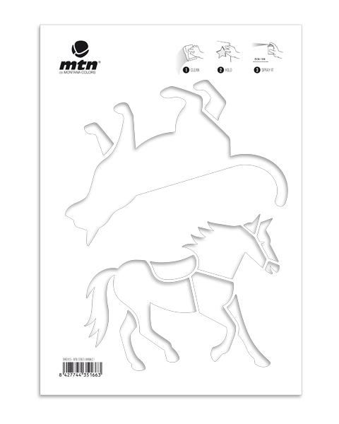 MTN Stencils Katze