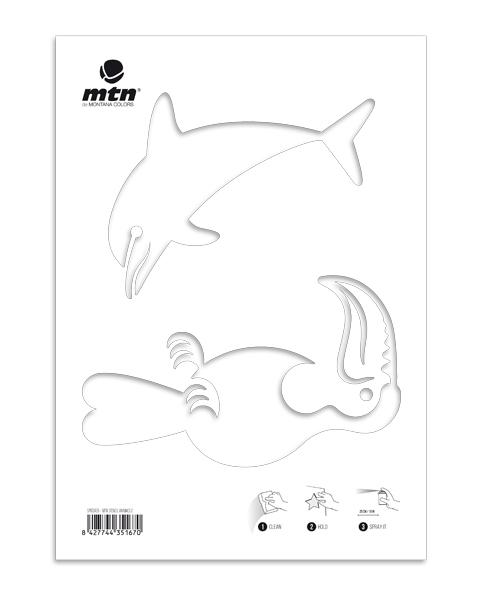 MTN Stencils Delfin