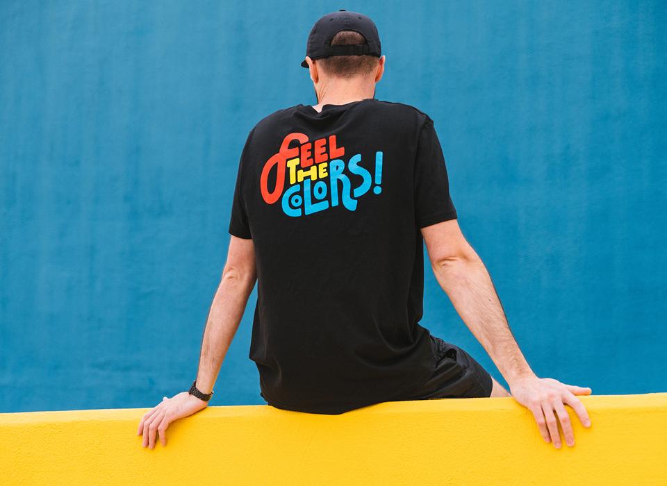 "MTN T-Shirt ""Feel The Colors"""