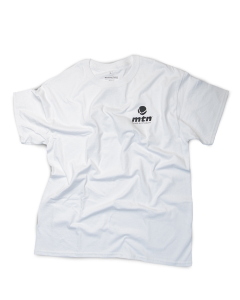 MTN T-Shirt Basic Logo Back White