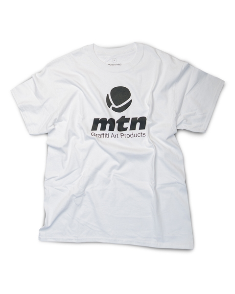 MTN T-Shirt Basic Logo Front White