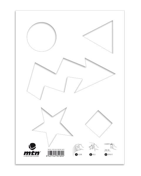 MTN Stencils Geometrie
