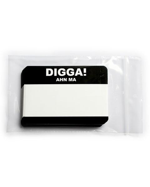 """Digga! Ahn ma!"" Sticker"