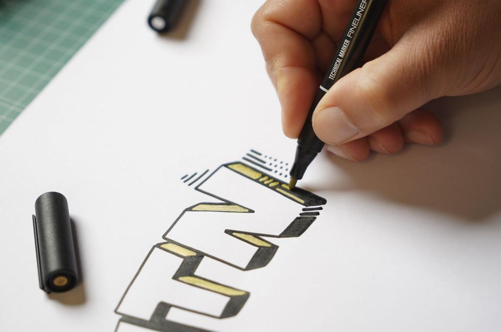 MTN Technical Marker Fineliner Metal Pack