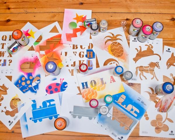 MTN Stencils Christmas Pack
